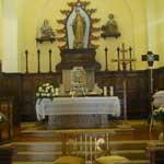 altare chiesa domuslaeta b&b