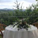 tavolo sposi giardino domus laeta b&b