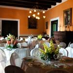tavoli cerimonia salone domus laeta b&b